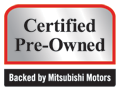 MITSUBISHI Certified Vehicle