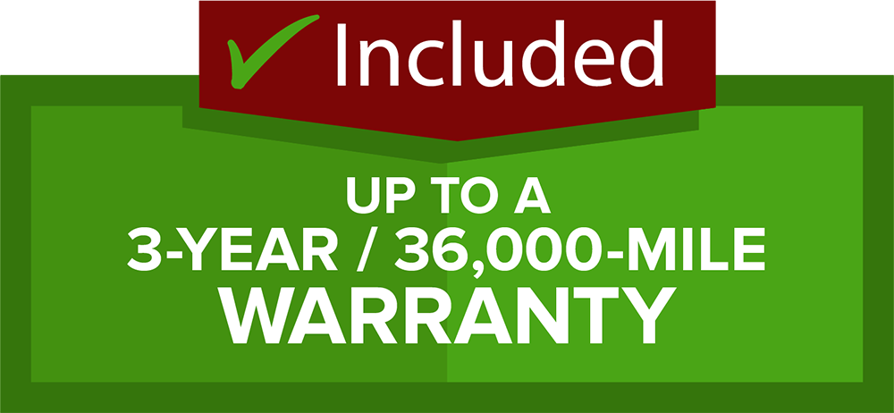 Warranty Included image