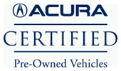 ACURA Certified Vehicle